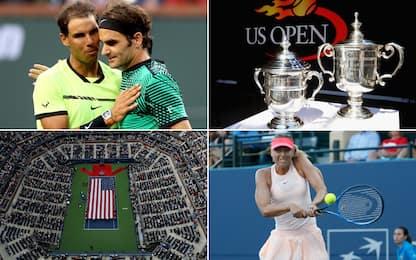 US Open: Federer e Sharapova, stelle a New York