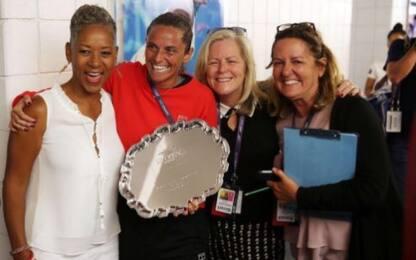 Vinci, restituito trofeo rubato degli US Open
