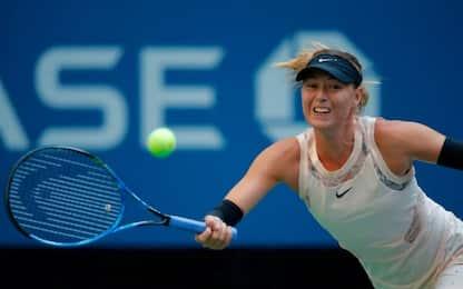US Open, grande rimonta Sharapova nel 2° turno