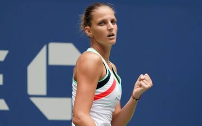 US Open, Pliskova rimonta e va al 3° turno
