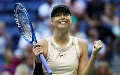 US Open, Sharapova e Venus Williams agli ottavi