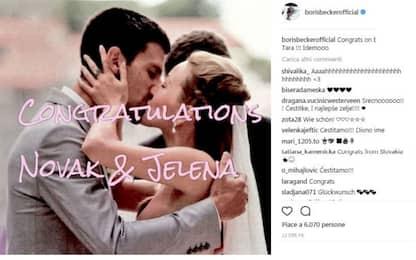 Novak Djokovic diventa papà per la seconda volta