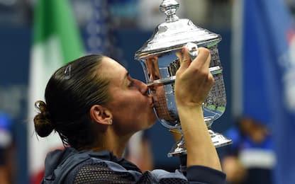 US Open: Pennetta, due anni fa il trionfo a NY