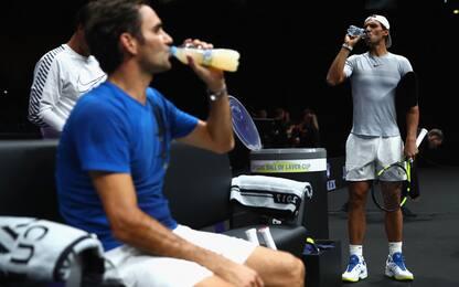 Laver Cup, Nadal-Federer vs resto del mondo