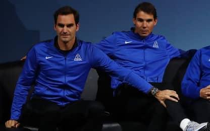 Laver Cup, Federer e Nadal insieme nel doppio