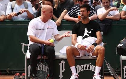 Djokovic non cambia: Agassi confermato per il 2018