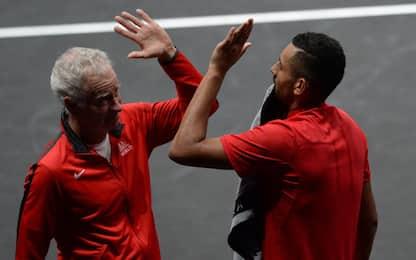 Tennis: Kyrgios-McEnroe, collaborazione in vista?