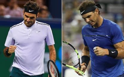 Shanghai Masters, Nadal e Federer in semifinale