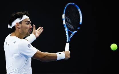 Stoccolma: Fognini ko in semifinale con Dimitrov