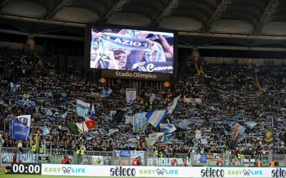 Lazio, adesivi antisemiti in Sud. La Figc indaga