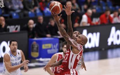 Basket, Milano aggancia Venezia. Bologna vola