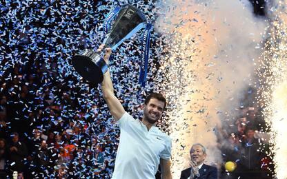 ATP Finals 2017, Dimitrov nuovo re di Londra