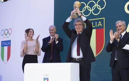Collari d'Oro, festa a Roma. E Zoff alza la Coppa