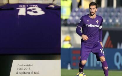 """Biella con Astori, la maglia a """"Mito del Calcio"""""""