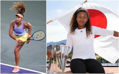 Chi è Naomi Osaka, la giapponese nera del tennis