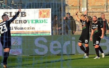 Litteri e Geijo: Venezia batte Cittadella 2-1