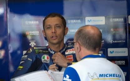 """Rossi: """"Bene le nuove Michelin, ma non basta"""""""