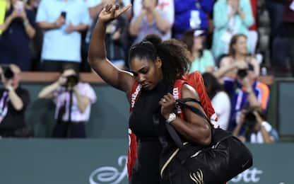 Roma, Serena dà forfait. Roland Garros a rischio