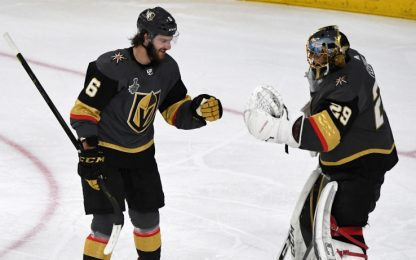 Stanley Cup: gara 1 ai Golden Knights, Capitals ko