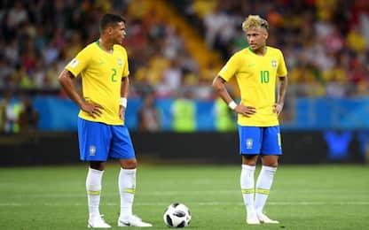 Zuber risponde a Coutinho: Brasile-Svizzera 1-1