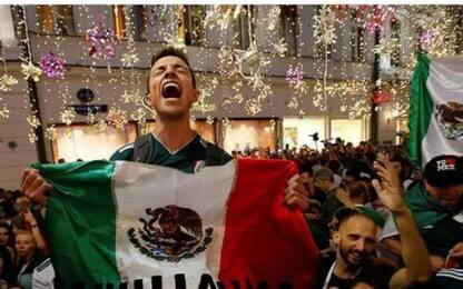 Messico, la serenata dei tifosi porta bene