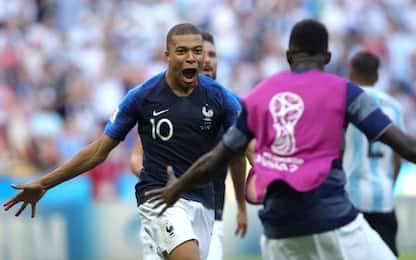 Mbappé incanta la Francia: Argentina battuta 4-3
