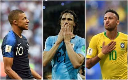 Mbappé-Cavani-Neymar, agli ottavi domina il Psg