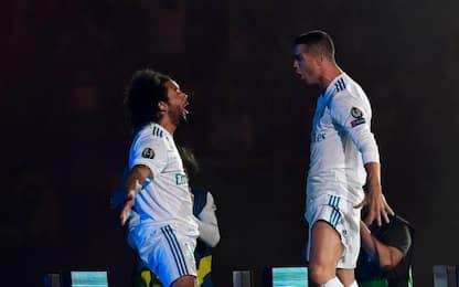 """Marcelo saluta Ronaldo: """"Presto di nuovo insieme"""""""