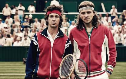 Borg McEnroe, prima tv per la finale di Wimbledon