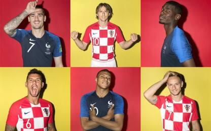 Francia-Croazia, le formazioni ufficiali