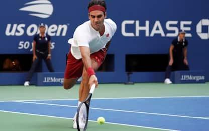 Us Open, l'ultima magia di Federer: Kyrgios ko