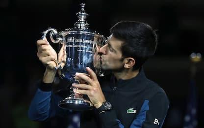 US Open: trionfo Djokovic, Del Potro ko in 3 set