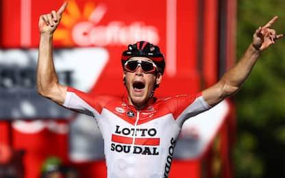 Vuelta: Wallays beffa Sagan, Yates resta in Roja