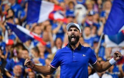 Semifinale Coppa Davis, Francia-Spagna 2-0