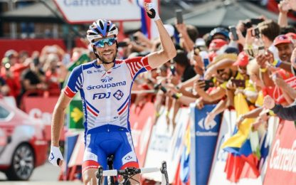 Vuelta: Pinot re ad Andorra, Yates ipoteca la Roja