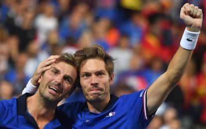 Davis, la Francia vola in finale: Spagna ko 3-0