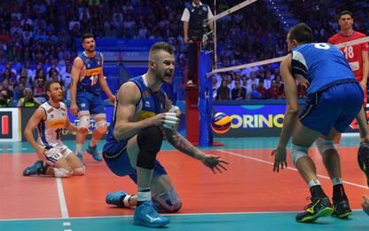 Mondiali volley: Serbia super, Italia ko 3-0