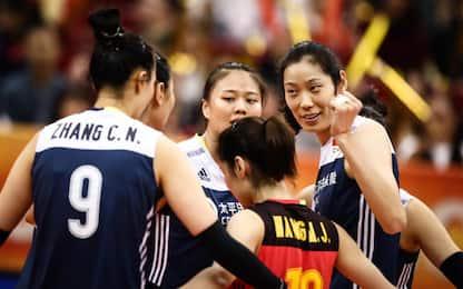 Mondiali volley, sarà Italia-Cina in semifinale