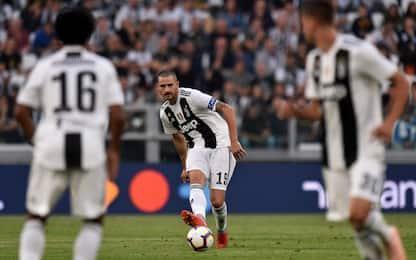 Bonucci torna capitano, fascia 16 mesi dopo