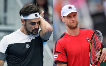 Stoccolma-Mosca, Fognini-Seppi out: niente finale