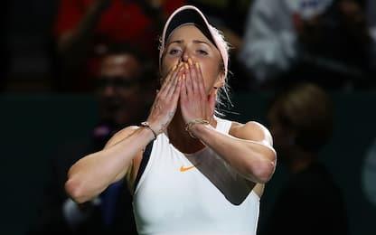 WTA Finals: vincono Svitolina e Pliskova