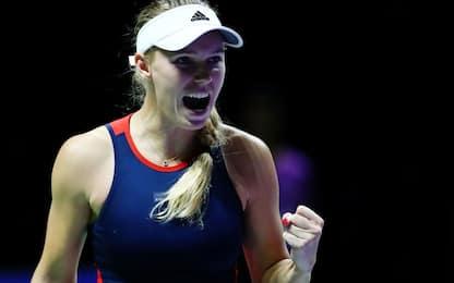 WTA Finals: vincono Wozniacki e Svitolina