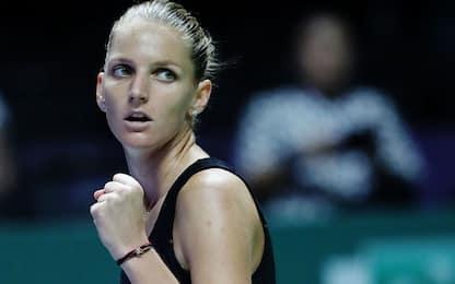 WTA Finals, Pliskova e Svitolina in semifinale