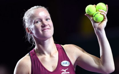 WTA Finals: Bertens e Stephens in semifinale