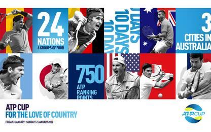 ATP Cup, dal 2020 ecco il Mondiale per nazioni