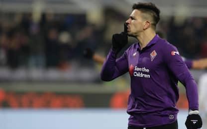 """Simeone, gol con polemica: """"Reazione sbagliata"""""""