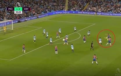 Townsend, gol senza senso contro il City: VIDEO