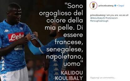 "Boateng sta con Kalidou: ""Siamo tutti Koulibaly"""