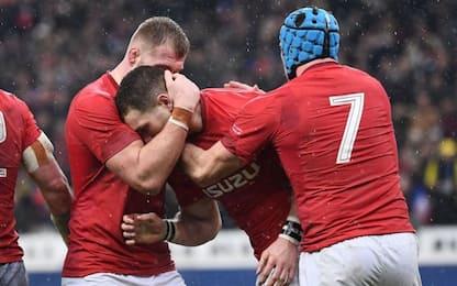Sei Nazioni, impresa Galles: Francia ko 19-24