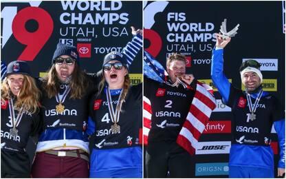 Snowboard, bronzo mondiale per Moioli e Perathoner
